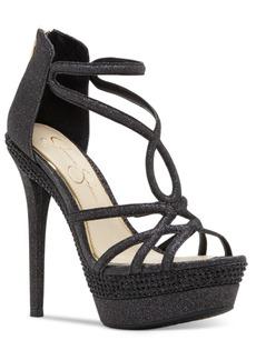 Jessica Simpson Rozmari T-Strap Platform Sandals Women's Shoes