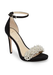 Jessica Simpson Rusley Imitation Pearl Sandal (Women)