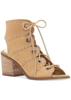 Jessica Simpson Ryanna Studded Lace-Up Shooties Women's Shoes