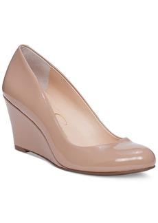 Jessica Simpson Sampson Wedge Pumps Women's Shoes