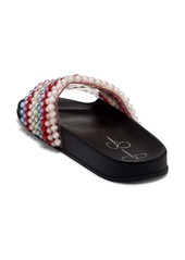 Jessica Simpson Saycie Beaded Slide Sandal (Women)
