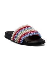Jessica Simpson Saycie Beaded Slide Sandal (Women)
