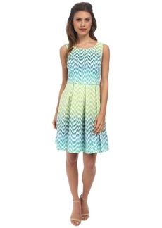 Jessica Simpson Scuba Fit & Flare Dress JS5X7141