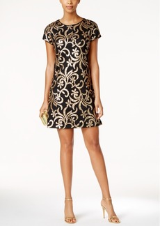 Jessica Simpson Sequined Shift Dress