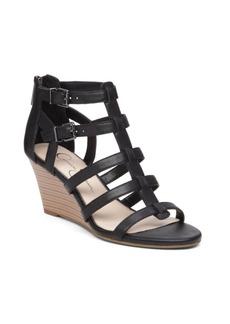 Jessica Simpson Shalon Leather Wedge Sandals