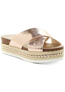 Jessica Simpson Shanny Flatform Slide Sandals Women's Shoes