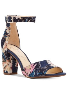 Jessica Simpson Sherron Two-Piece Block-Heel Sandals Women's Shoes