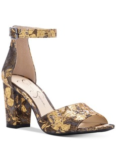 Jessica Simpson Sherron Two-Piece Block-Heel Sandals Women's Shoes