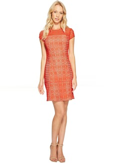 Jessica Simpson Short Sleeve Lace Dress