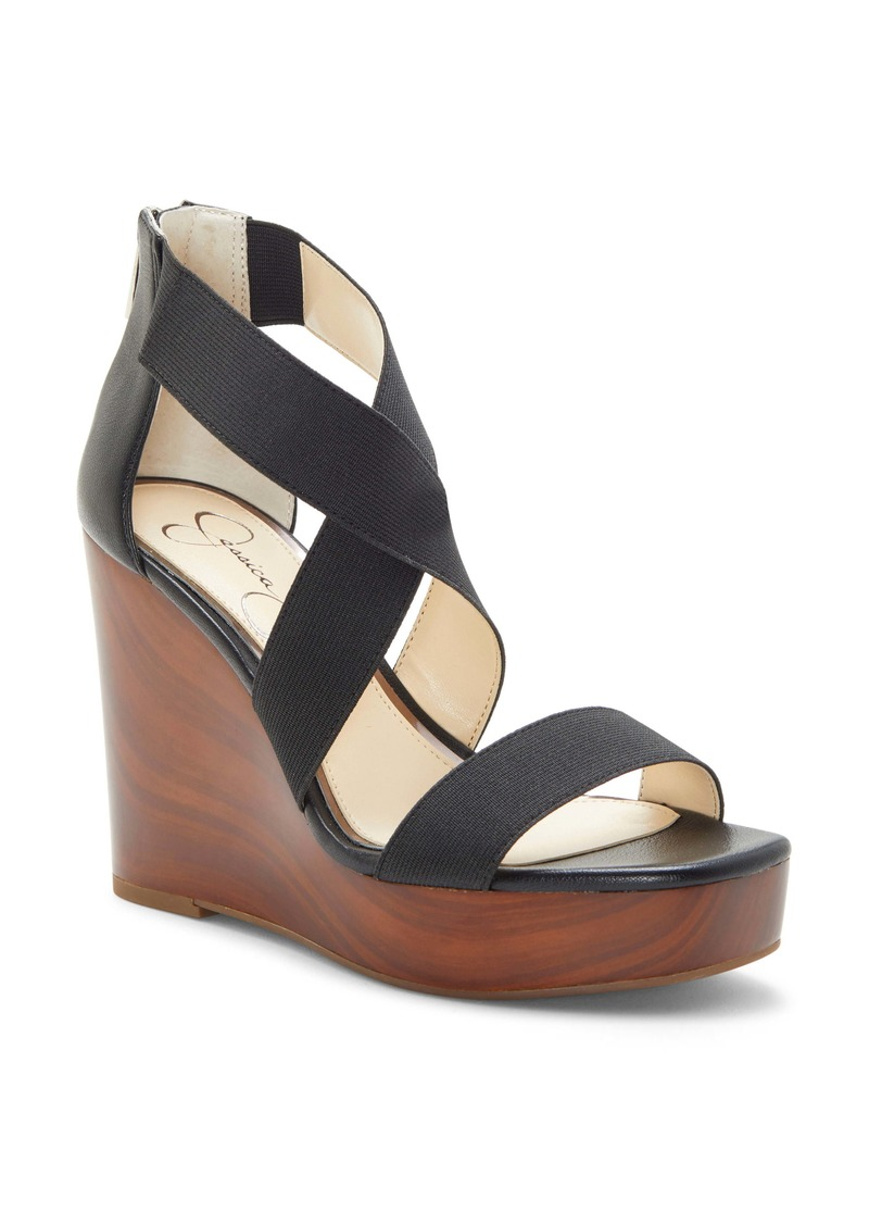 Jessica Simpson Siana Wedge Sandal (Women)
