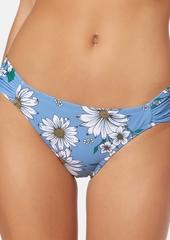 Jessica Simpson Side-Shirred Hipster Bikini Bottoms Women's Swimsuit