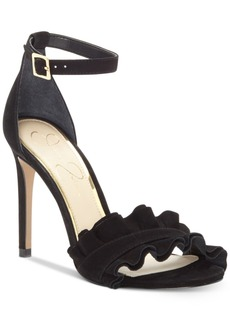 Jessica Simpson Silea Peep-Toe Dress Sandals Women's Shoes
