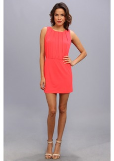 Jessica Simpson Sleeveless Blouson Dress w/ Fitted Skirt