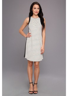 Jessica Simpson Sleeveless Dress w/ Contrast Armhole And Side Bands