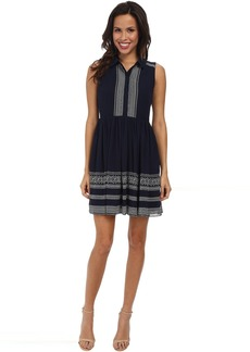 Jessica Simpson Sleeveless Embroidered Dress JS5U6902