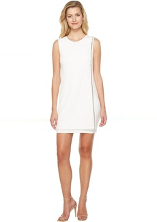 Jessica Simpson Sleeveless Front Drape Dress
