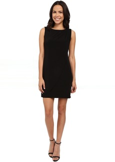 Jessica Simpson Sleeveless Ity Dress with Front Drape