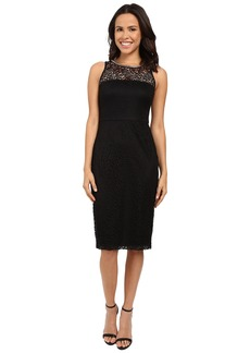 Jessica Simpson Sleeveless Lace Midi Dress JS6D8548