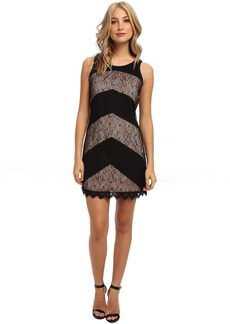 Jessica Simpson Sleeveless Shift Dress with Tie at Back Neck
