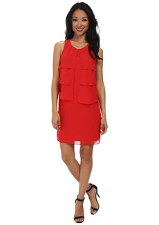 Jessica Simpson Sleeveless Tiered Dress JS5U7074