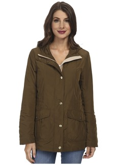 Jessica Simpson Snap Front Anorak with Contrast Lining