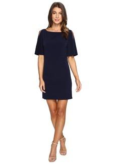 Jessica Simpson Solid Ity Split Sleeved Dress