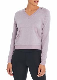 Jessica Simpson Sportswear Women's Bardot Long Sleeve Pullover Hoodie