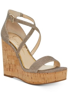 Jessica Simpson Stassi Platform Wedge Sandals Women's Shoes