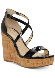 Jessica Simpson Stassi Platform Wedge Sandals Women's Shoes