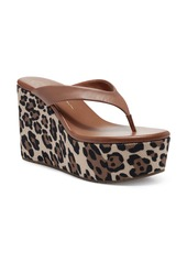 Jessica Simpson Stilla Platform Wedge Flip Flop (Women)
