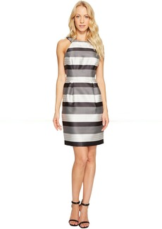 Jessica Simpson Striped Halter Sateen Dress