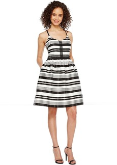 Jessica Simpson Striped Party Dress JS7A9599