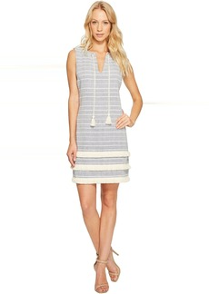 Jessica Simpson Striped Tweed Shift Dress JS7A8997