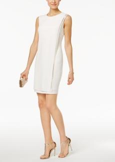 Jessica Simpson Studded Jersey Sheath Dress