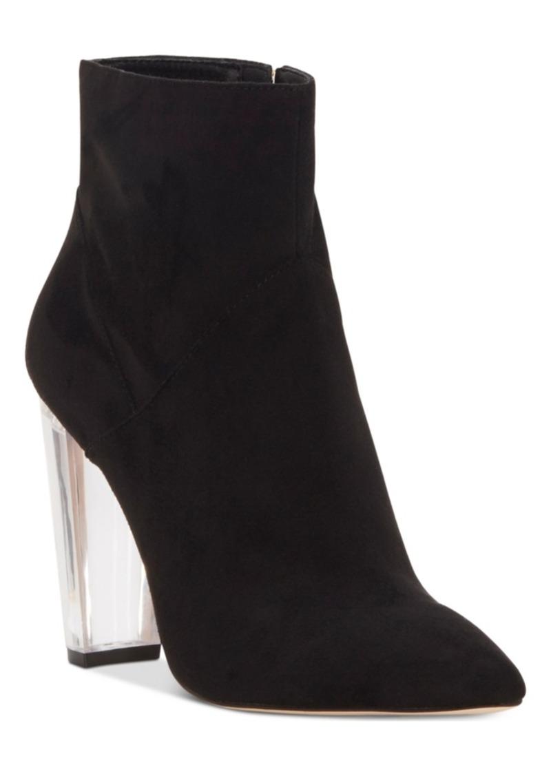 172665468c7 Jessica Simpson Jessica Simpson Tarek Lucite-Heel Booties Women s ...