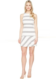 Jessica Simpson Textured Knit Drop Waist Dress