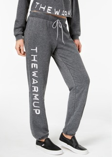Jessica Simpson The Warm Up Burnout French Terry Joggers