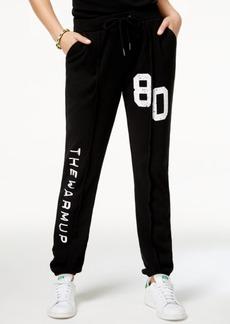 Jessica Simpson The Warm Up Graphic Sweatpants