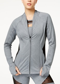 Jessica Simpson The Warm Up Illusion Active Jacket