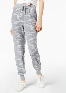 Jessica Simpson The Warm Up Juniors' Burnout Terry Jogger Pants