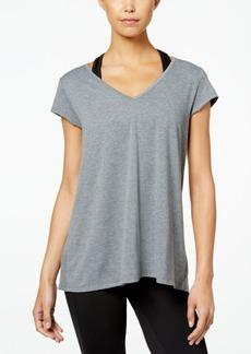 Jessica Simpson The Warm Up Juniors' Mesh-Back T-Shirt