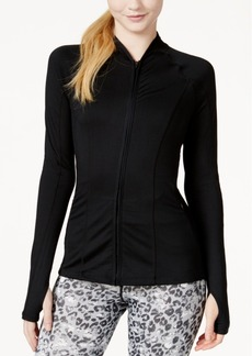 Jessica Simpson The Warm Up Mesh-Back Active Jacket, Created for Macy's