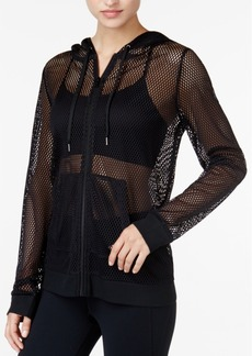 Jessica Simpson The Warmup Juniors' All-Over Mesh Jacket