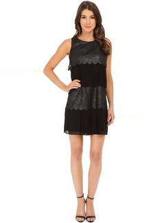 Jessica Simpson Tier Lace and Chiffon Dress