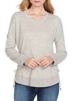 Jessica Simpson Tippy Lace-Up Sweatshirt