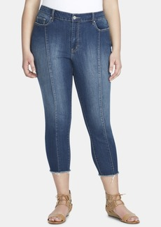 Jessica Simpson Trendy Plus Size Adored High-Rise Skinny Ankle Jeans