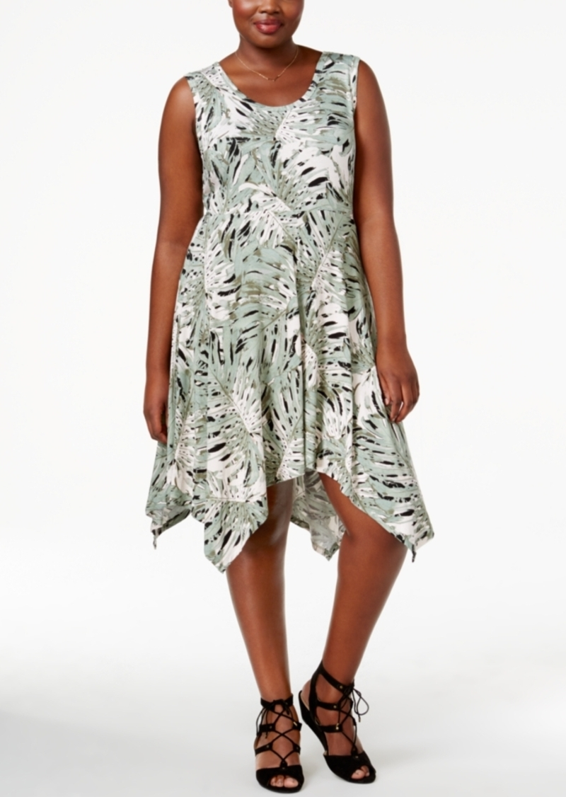 Jessica Simpson Jessica Simpson Trendy Plus Size Handkerchief-Hem ...