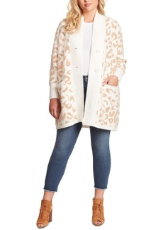 Jessica Simpson Trendy Plus Size Lana Oversized Cardigan Sweater