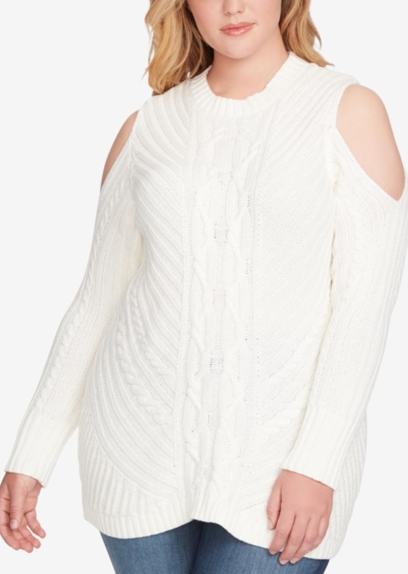 bc3bf8bf73e20c SALE! Jessica Simpson Jessica Simpson Trendy Plus Size Posy Cold ...