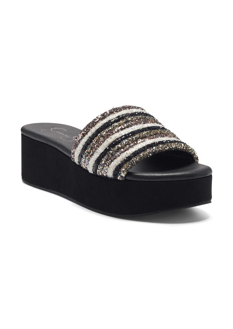 Jessica Simpson Trivia Platform Sandal (Women)